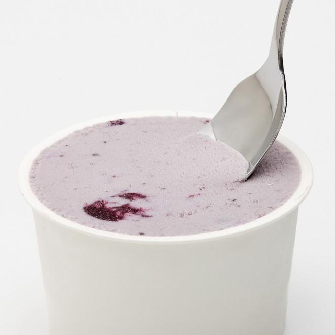 ブルーベリーアイスクリーム