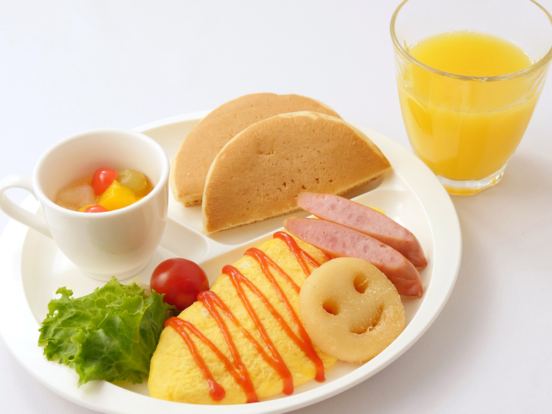 お子様朝食プレート