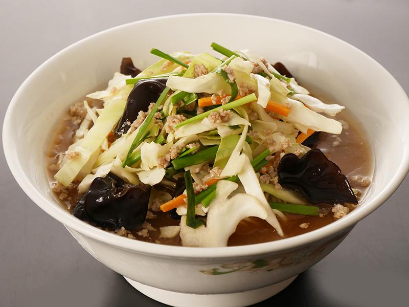 野菜たっぷり味噌湯麺