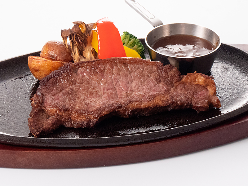 USビーフのサーロインステーキ  150g ソース2種